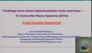 Mass Spectrometry 5/18/2016