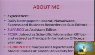 One-day Seminar on Science and Society-Science Communication and Public Engagement part 2