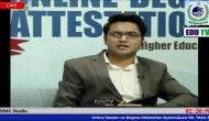 Online Session on Degree Attestation system